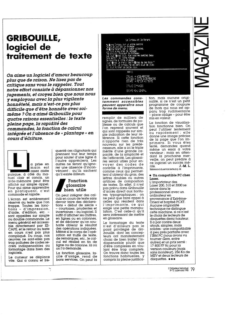 logiciel gribouille